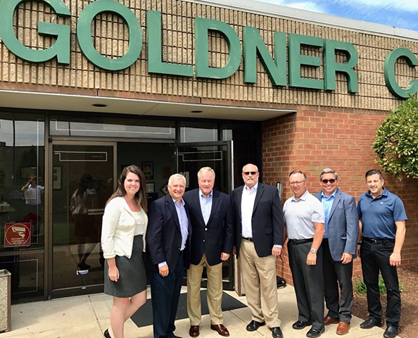 M&SCA Member Herman Goldner Co., Inc. stands with Senator Scott Wagner