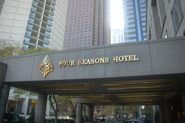 Herman Goldner Co. installs a microturbine in Four Seasons Hotel, Philadelphia, to reduce annual energy costs by 30%